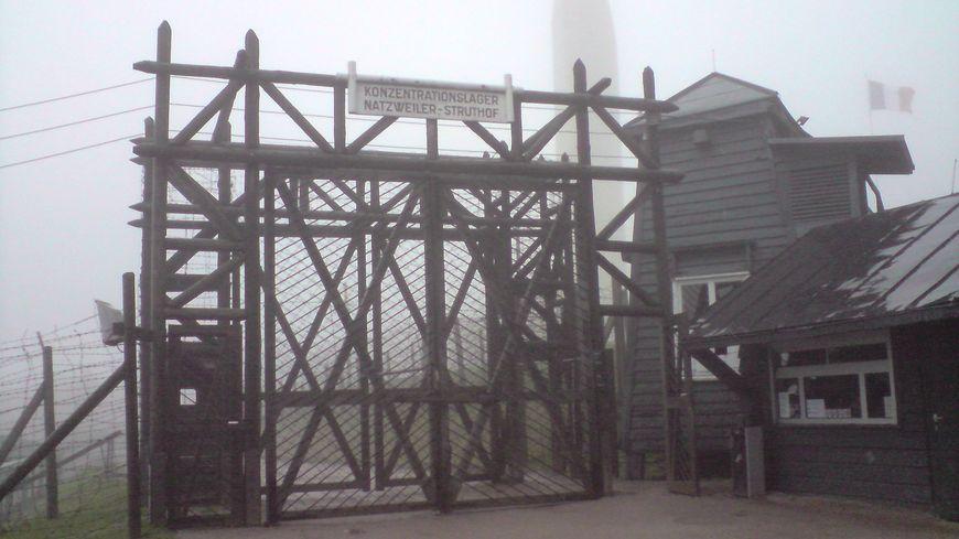 entrée du camp de Natzweiler-Struthof