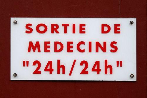 Sortie de médecins 24h/24