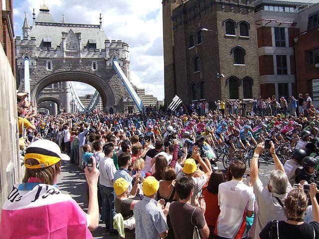 Le Tour de France dans les rues de Londres