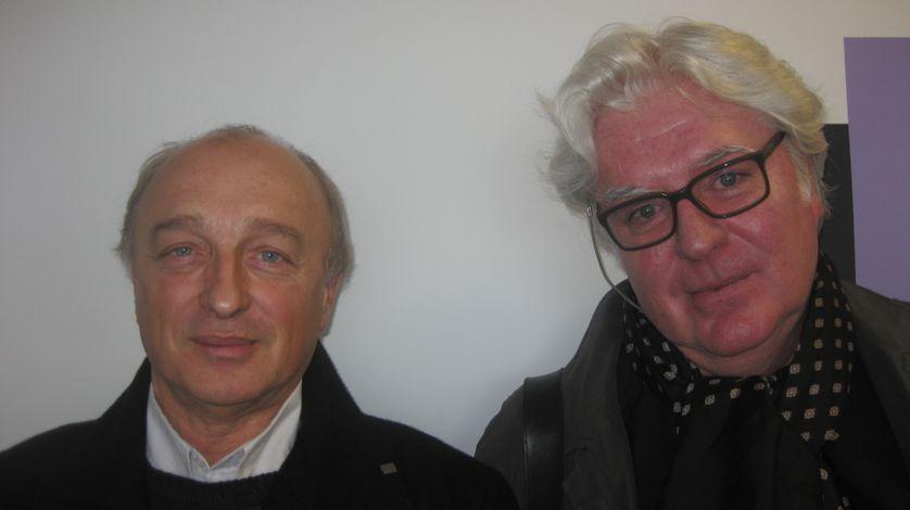 René de Ceccatty et Gilles Leroy