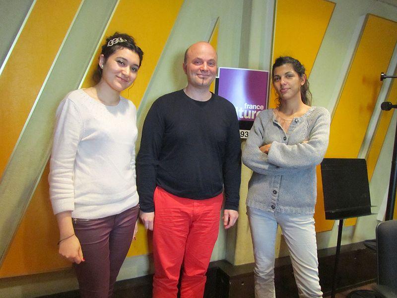 Anina,  Régis Guyon et Louise Tourret (Studio 153)