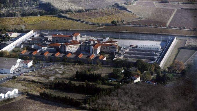 Vue aérienne de la prison de Perpignan