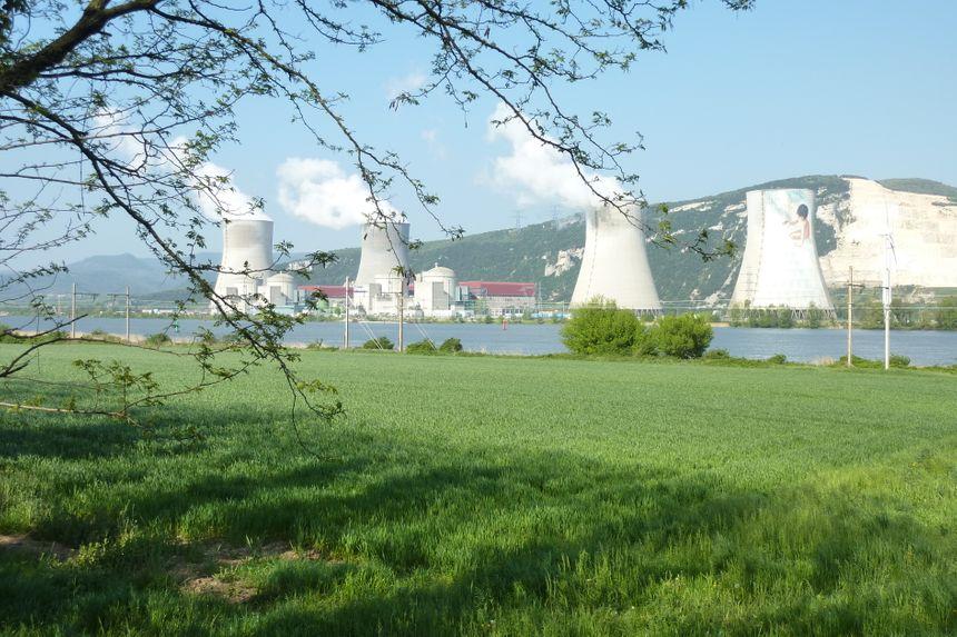 La centrale nucléaire de Cruas Meysse en Ardèche.