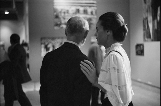 "Henri Cartier-Bresson, Martine Franck, exposition ""En France"", Paris, Grand Palais, 1970"