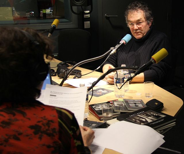Jean-Louis Courtinat en studio, 2013