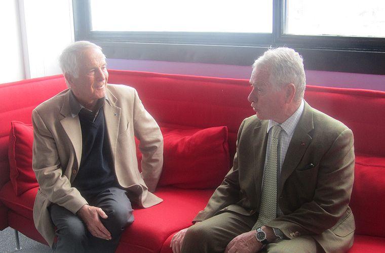 Etienne Copel et Bernard Norlain