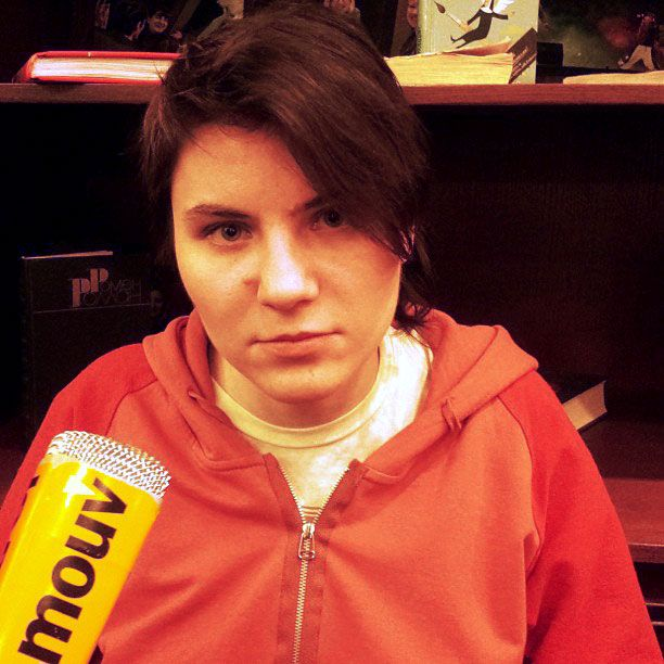 Ekaterina Samoutsevitch, l'une des trois Pussy Riot arrêtées en février 2012