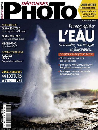 Magazine Réponses Photo mai 2013 © Réponses Photo