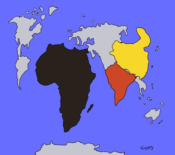 Chine Inde et Afrique