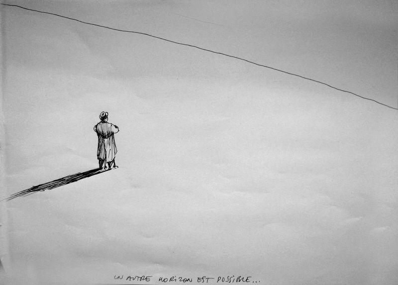 dessin de Marc-Antoine Mathieu