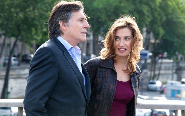 Gabriel Byrne et Emmanuelle Devos