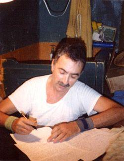 Abraham Serfaty en prison au début des années 1980
