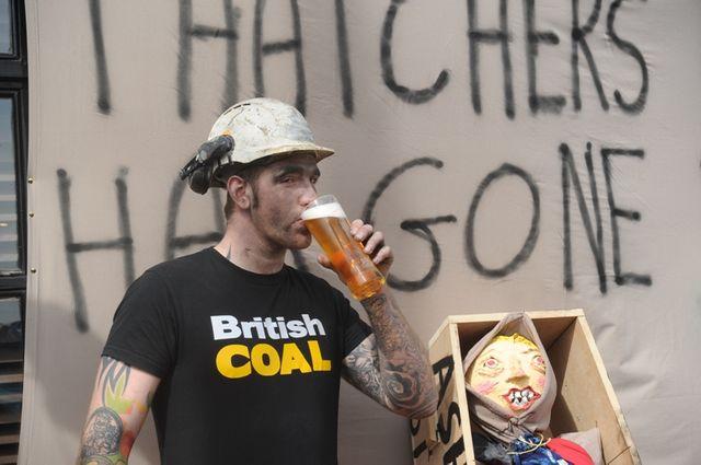 Goldthorpe, Yorkshire, Grande-Bretagne (17 avril 2013)