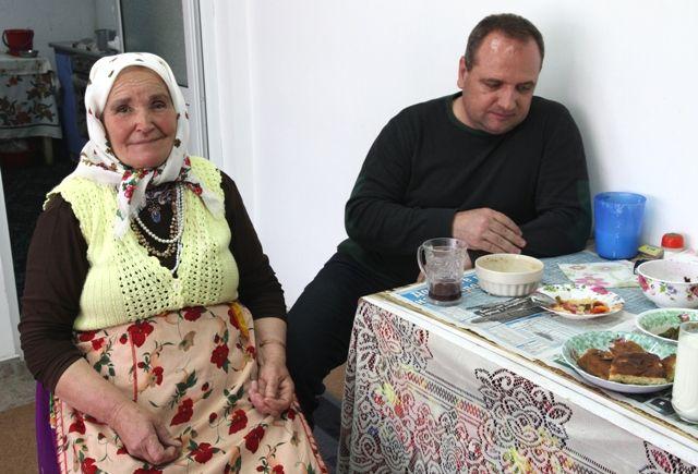 Le père et la grand-mère de Gergana