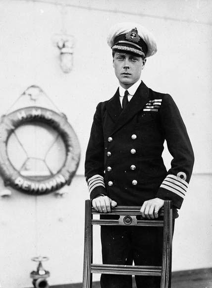 Edward, Prince de Galles durant sa visite au Canada en 1919