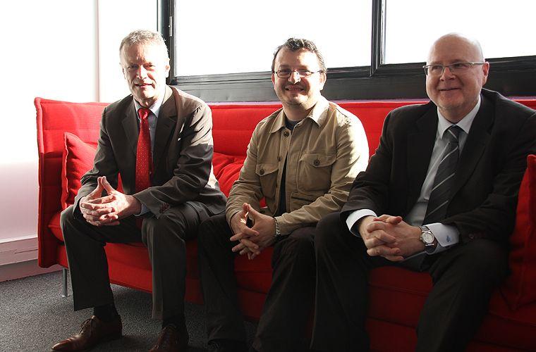 Jean-Pierre Blazy, Saïmir Mile et Alain Regnier