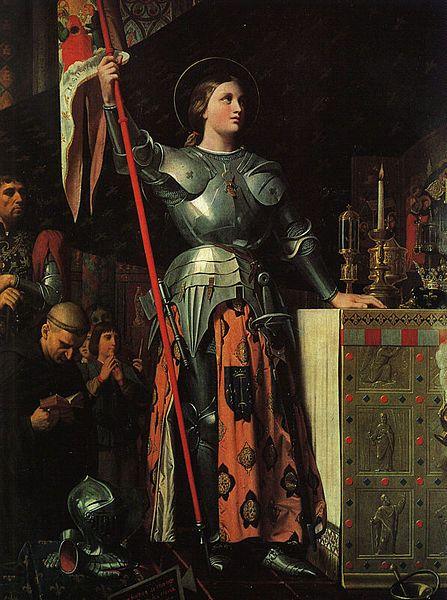 Jeanne d'Arc au sacre du roi Charles VII (1854)