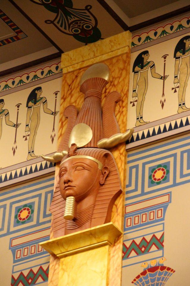 Tête de pharaon