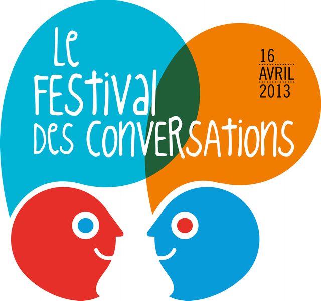 Le logo du Festival des conversations 2013
