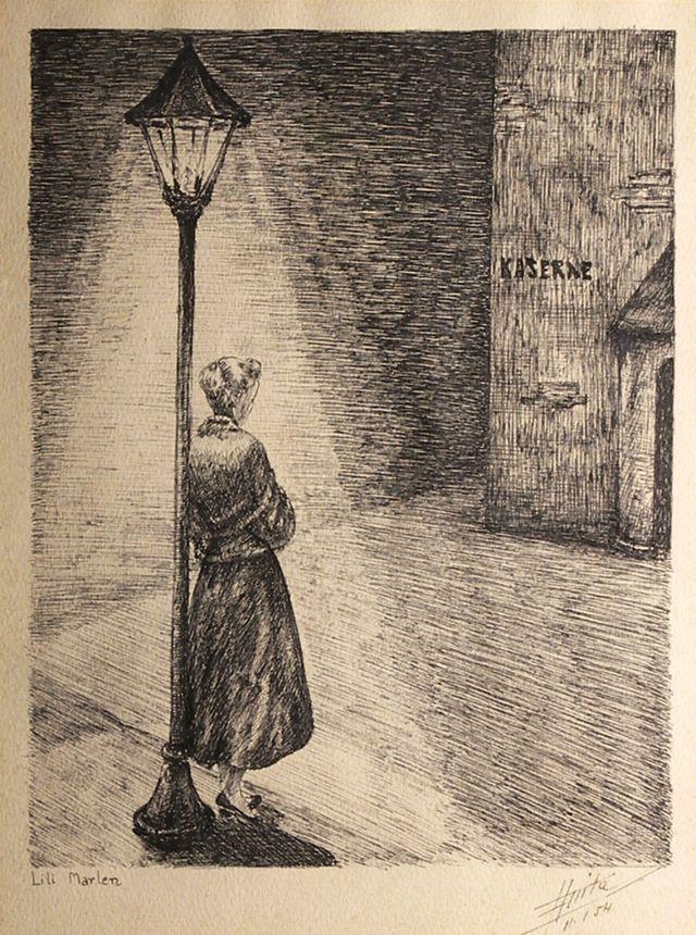"""""""Lili Marleen"""" par Zia Anita - 1954"""