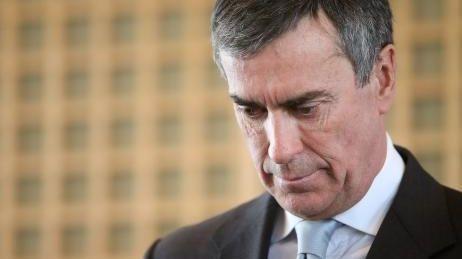 Jérôme Cahuzac, lors de sa démission le 20 mars dernier