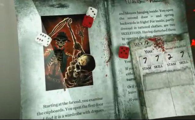 Capture d'écran des la vidéo de présentation de l'appli Défis Fantastiques