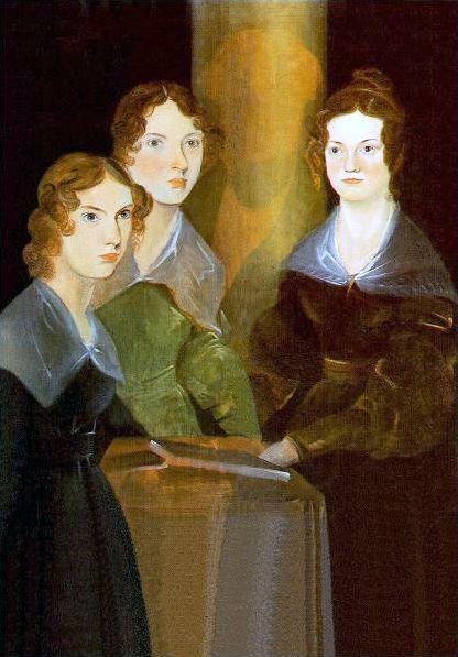 Portrait des soeurs Brontë par leur frère, Patrick Branwell