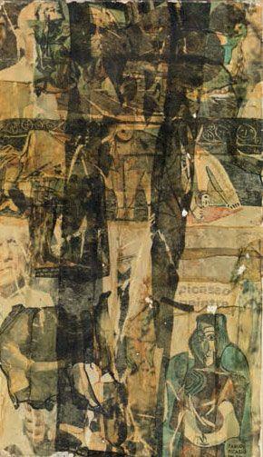 Gil J Wolman Picasso peintre-1967