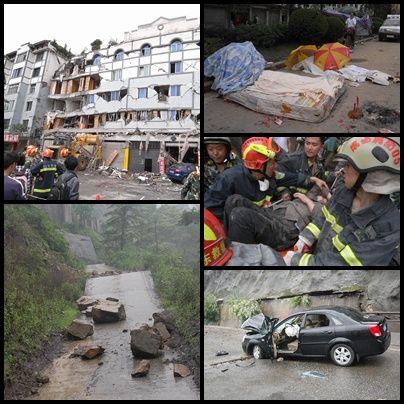 Seisme dans le Sichuan en 2008