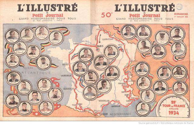 Le 34e Tour de France
