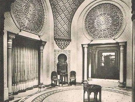 Une page d'histoire : le palais oriental