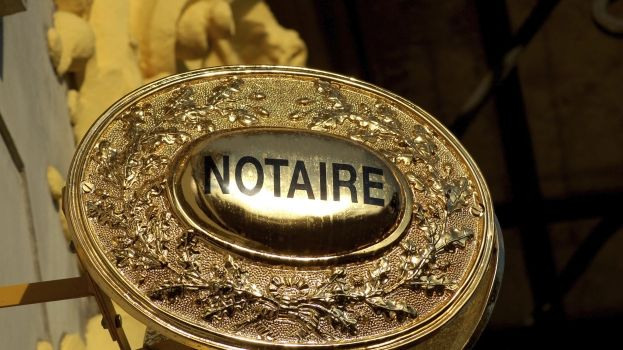 Notaires  plaque - FB Provence
