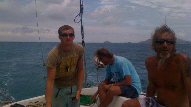 Les trois marins du Grain de Soleil portés disparus