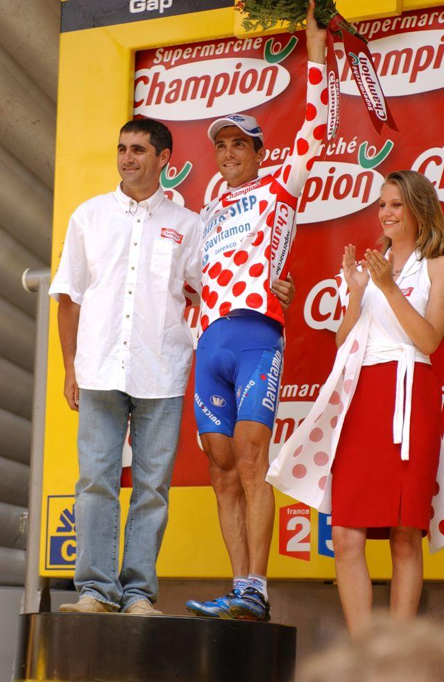 Virenque podium
