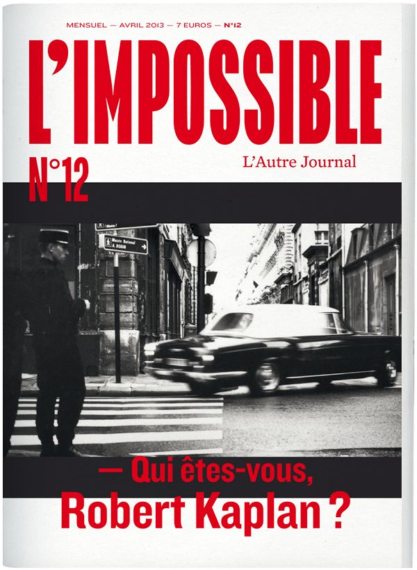 L'Impossible - l'autre journal, avril 2013, n°12
