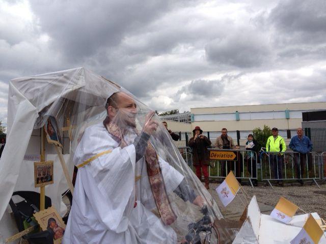La pape Jean-Paul était à la Médocaine VTT 2013