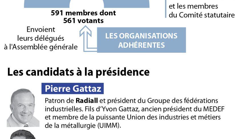 La décision finale reviendra aux 560 membres de l'assemblée générale du Medef ayant voix délibérative.