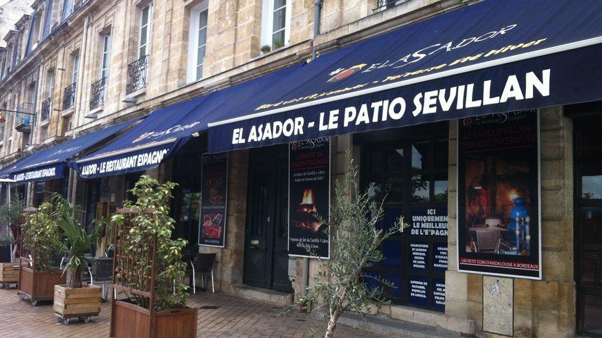 Le restaurant Al Asador quai de la monnaie à Bordeaux