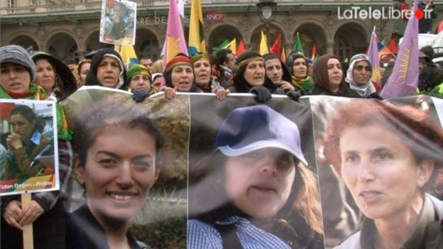 """""""Des Kurdes à Paris en exil"""" La TéléLibre"""