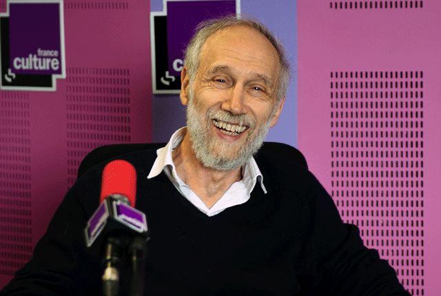 Alain Connes pendant l'émission Science Publique du 24 mai 2013