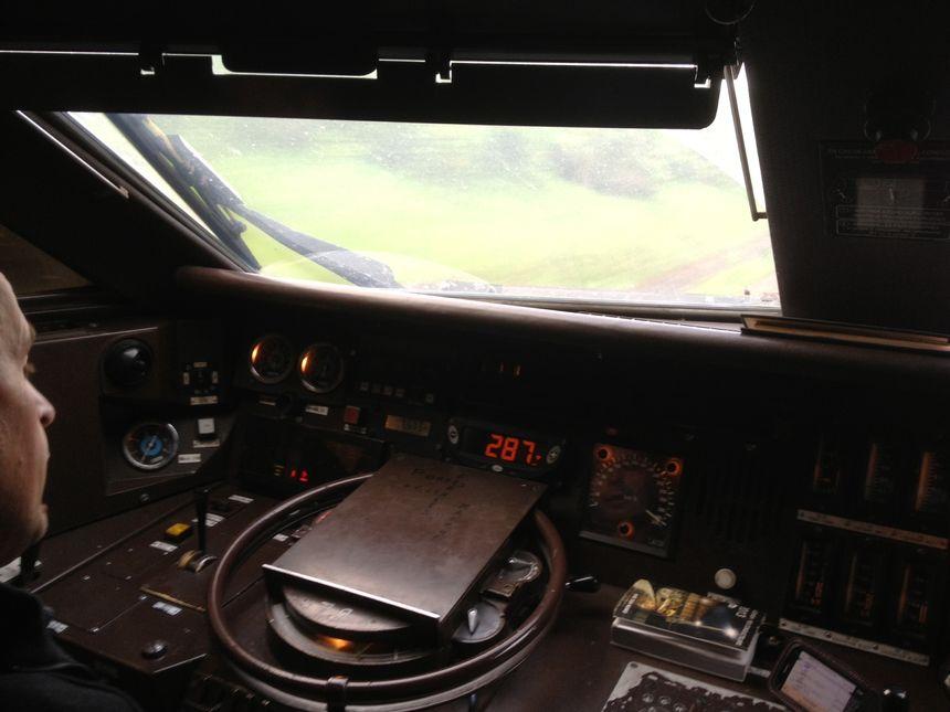 Les 20 ans du TGV Nord : dans la cabine de la rame entre Paris et Lille