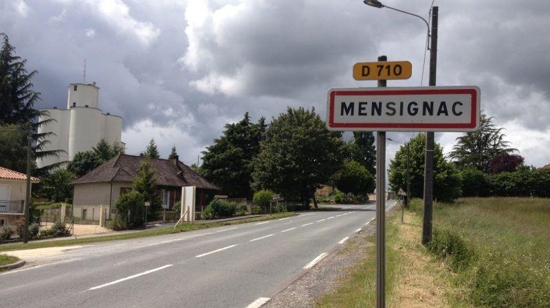 Le vilage de Mensignac a perdu un de ses enfants