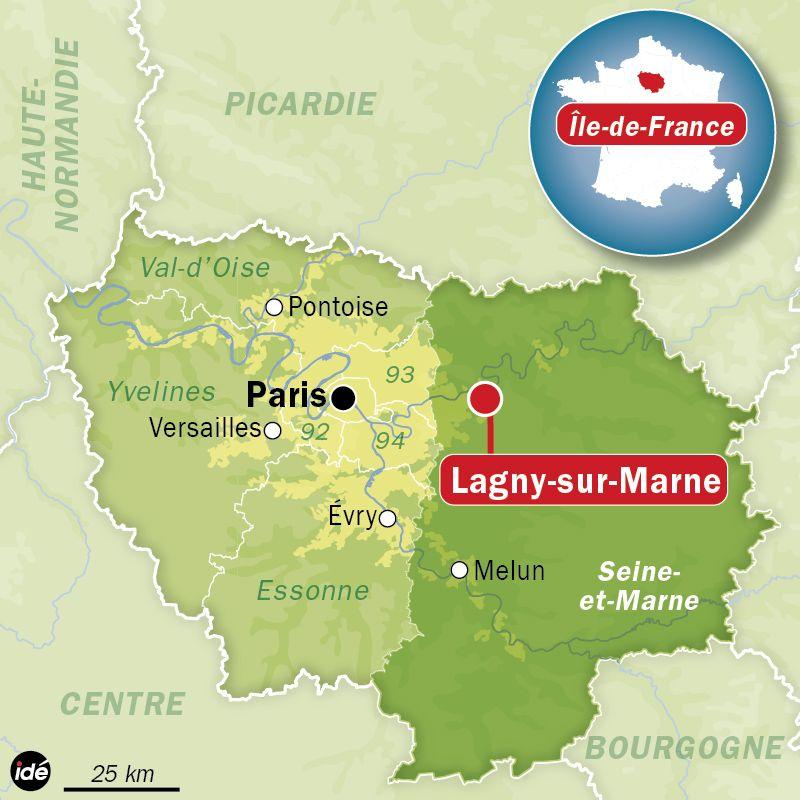 Le corps de Maud a été retrouvé dans une rue voisine de son domicile à Lagny-sur-Seine