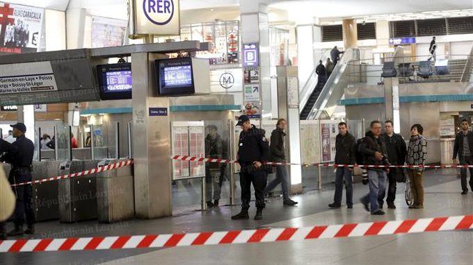 Le militaire a été agressé près de la gare RER