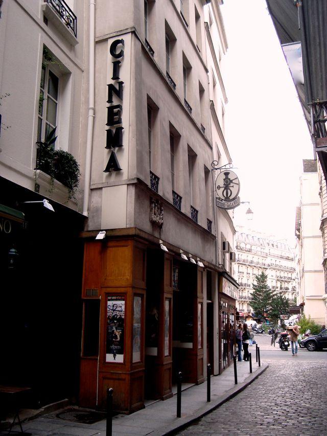Le cinéma Studio Galande à Paris