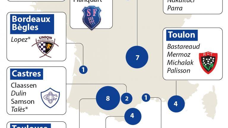 Rugby : huit toulousains en Nouvelle Zélande avec le  XV de France
