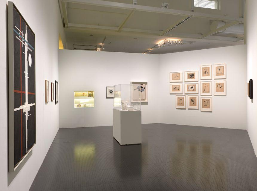 """L'exposition """"Vue d'en Haut"""", Grande nef du Centre Pompidou Metz"""