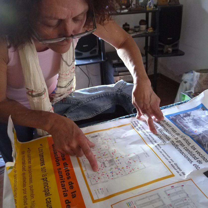 Relevé des maladies fait par les mères d'Ituzaigo