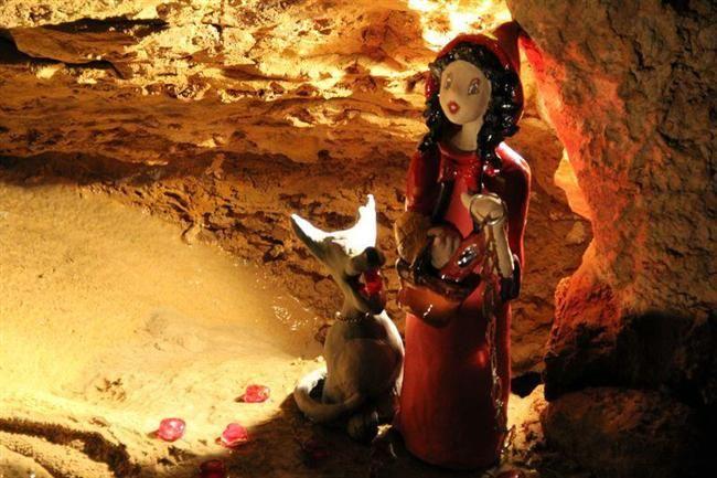 Sculpture - Grotte de Trabuc