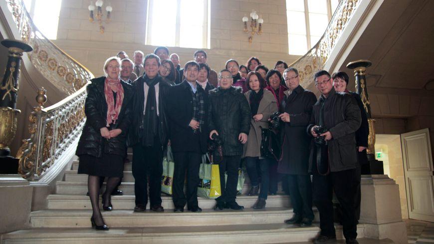 Des touristes et des journalistes chinois découvrent la Picardie